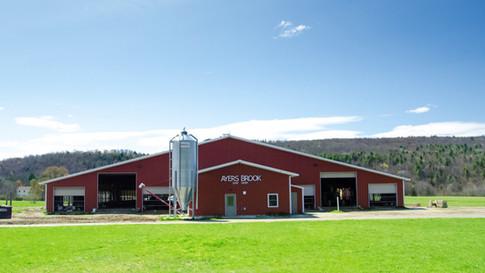 Ayers Brook Goat Dairy milking barn