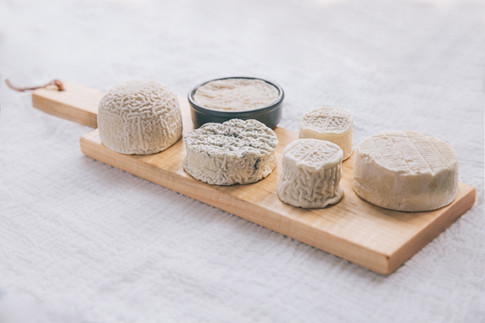 Vermont Creamery aged goat cheese