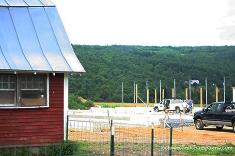 Building of Milking Barn