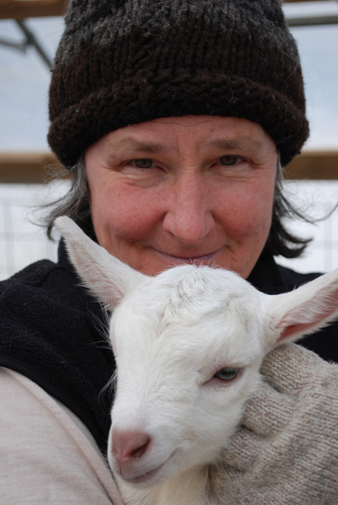 Judith Irving, Co-owner/Founder of Fat Toad Farm
