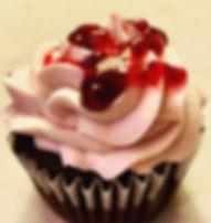 Gluten-free Chocolate Raspberry Cupcake_