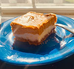 Gluten-Free, Pumpkin Cheese Cake Bars