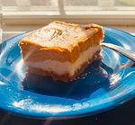 Gluten-Free, Pumpkin Cheese Cake Bars