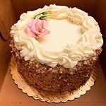 Gluten Free Carrot Cake (9 inch cake)