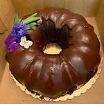 Chocolate or Vanilla Bundt Cake (9 inch Bundt)