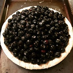 Gluten-Free Fresh Blueberry Pie (9 inch pie)