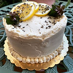 Gluten Free cakes (vegan options) Chocolate, vanilla, German chocolate, lemon cake (6 or 9 inch cakes)