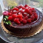 Gluten Free, Flourless Chocolate Torte (9 inch)