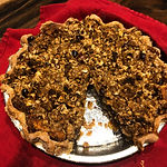 Gluten Free/Vegan Apple Crumb Pie