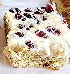 White Chocolate Cranberry Bliss Cake