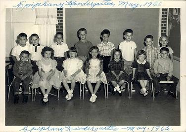 Epiphany Day School Kindergarten 1962