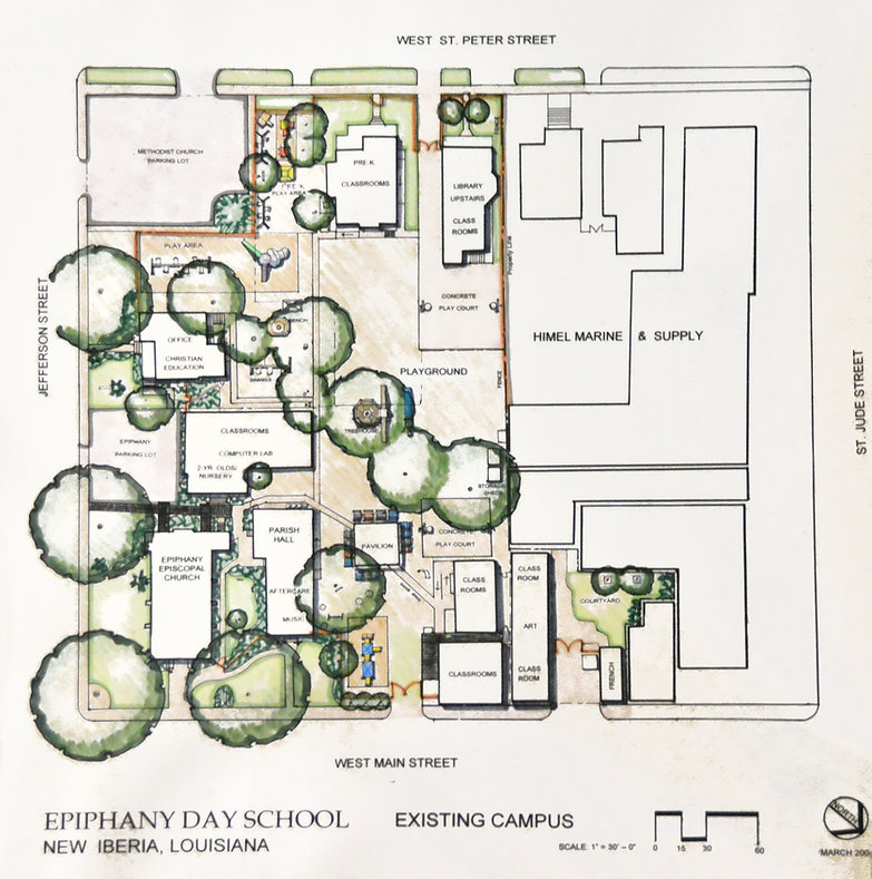 EDS Campus Map