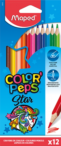 Maped Crayons Color Peps (x12)