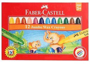 Faber Castel Wax Crayon Faber Castel Set of 12