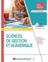 Sciences de gestion et du numérique-Fontaine Picard