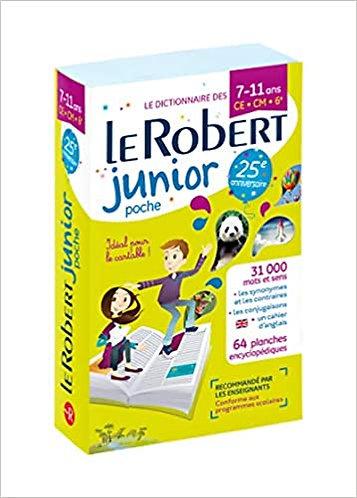 Dictionnaire le Robert Junior Poche 7 /11 ans