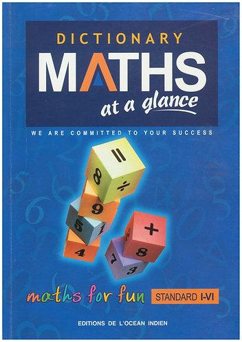 Dictionary Maths at a glance