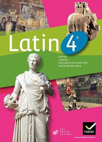 Latin 4ᵉ Les Belles Lettres nouveaux programmes