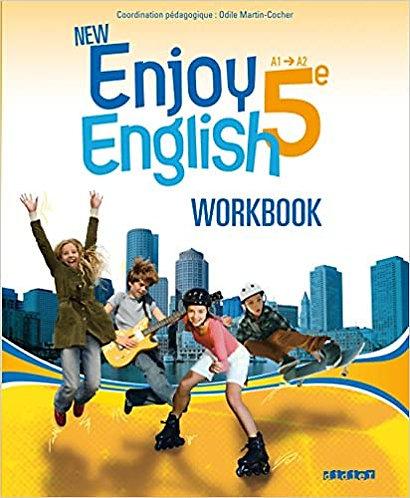 Anglais - New Enjoy workbook-Didier