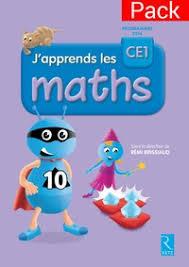 J'apprends les Maths CE1 Fichier élève + Mémo - Edition 2019