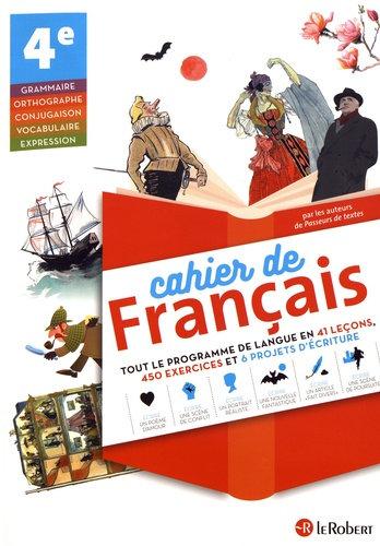 CAHIER DE FRANCAIS 4E