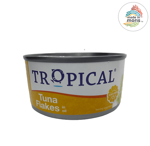 Tropical Flakes In Oil 170g
