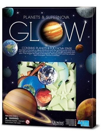 Glow Planets & Nova Stars 100pcs