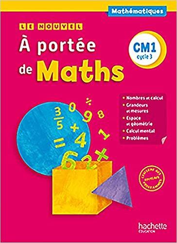 A portée de Maths CM1 - Livre élève