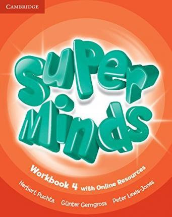 Super Minds Level 4 Workbook with Online Resources-Cambridge