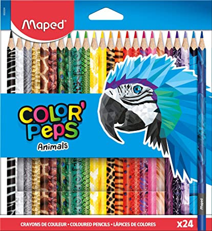 Maped Crayons Color Peps x24 Animal