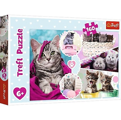 """Puzzles - """"160"""" - Lovely kittens"""