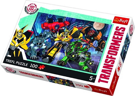 "Puzzles - ""100"" - Autobots team / Transformers Robots in Disguise"
