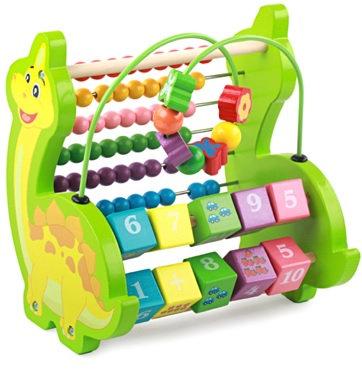 Multifunction Dinosaur Abacus