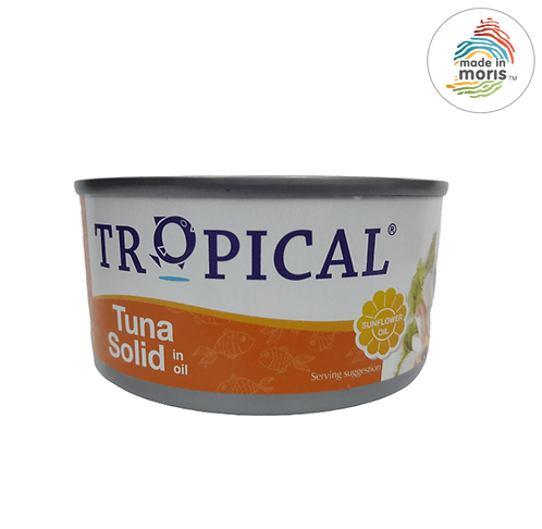 Tropical Solid in Oil 170g