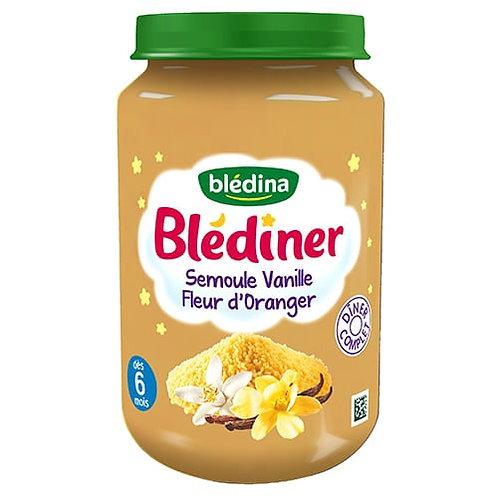 Blediner Semoule Vanille Fleur D'Oranger 200g
