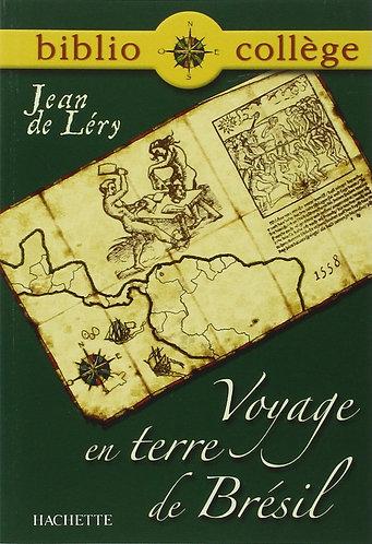 Voyage en terre de Brésil de Jean de Léry