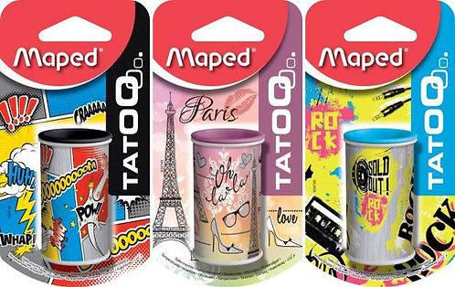 Maped Taille Crayon Mini Canette Tatoo