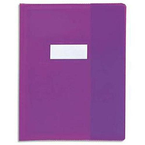 Protège Cahier Format 17x 22 (Violet)
