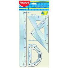 Maped Kit Tracage Classic 4pcs 30cm