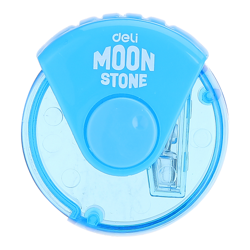 Deli Pencil Sharpener Moon Stone