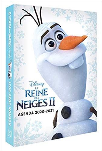 Agenda Disney - Reine Neiges 2 - 2020-2021
