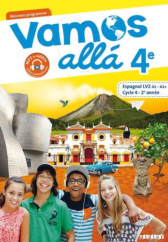 Vamos Allá espagnol LV2 cycle 4 2ème année