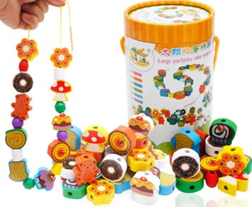 Beads Threading Toy