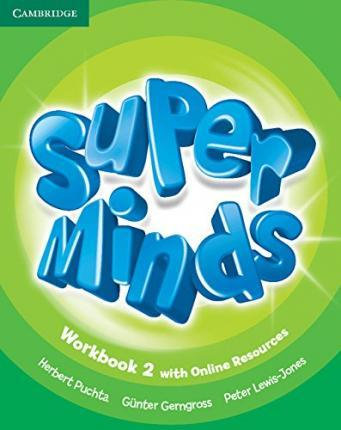 Super Minds Level 2 Workbook with Online Resources-(Cambridge)