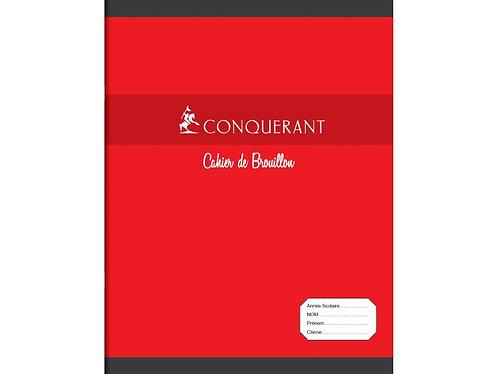 Conquerant Cahier 17x22 48p 56g Seyes Brouillon