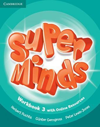 Super Minds Level 3 Workbook with Online Resources-Cambridge