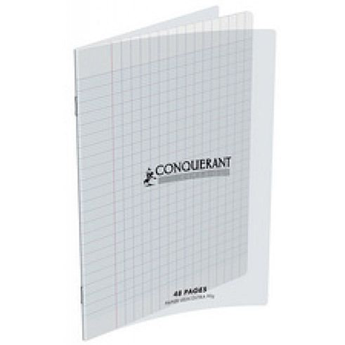 Conquerant - Cahier Polypro transparent 48 pages (17 x 22 - Seyes - 90g)