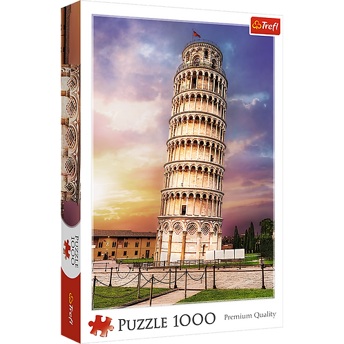 "Puzzles - ""1000"" - Pisa tower"