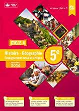Histoire Géographie EMC 5e cycle 4 : Manuel élève – Edition 2016