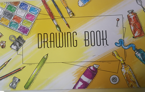 Drawing Book Large